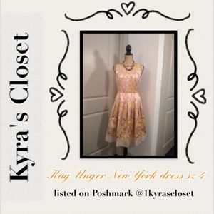Kay Unger New York dress sz 4